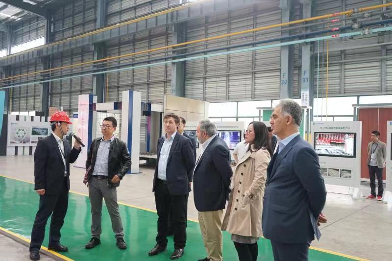 迪拜NST公司考察精工能源集团并邀请 合作开发新能源项目
