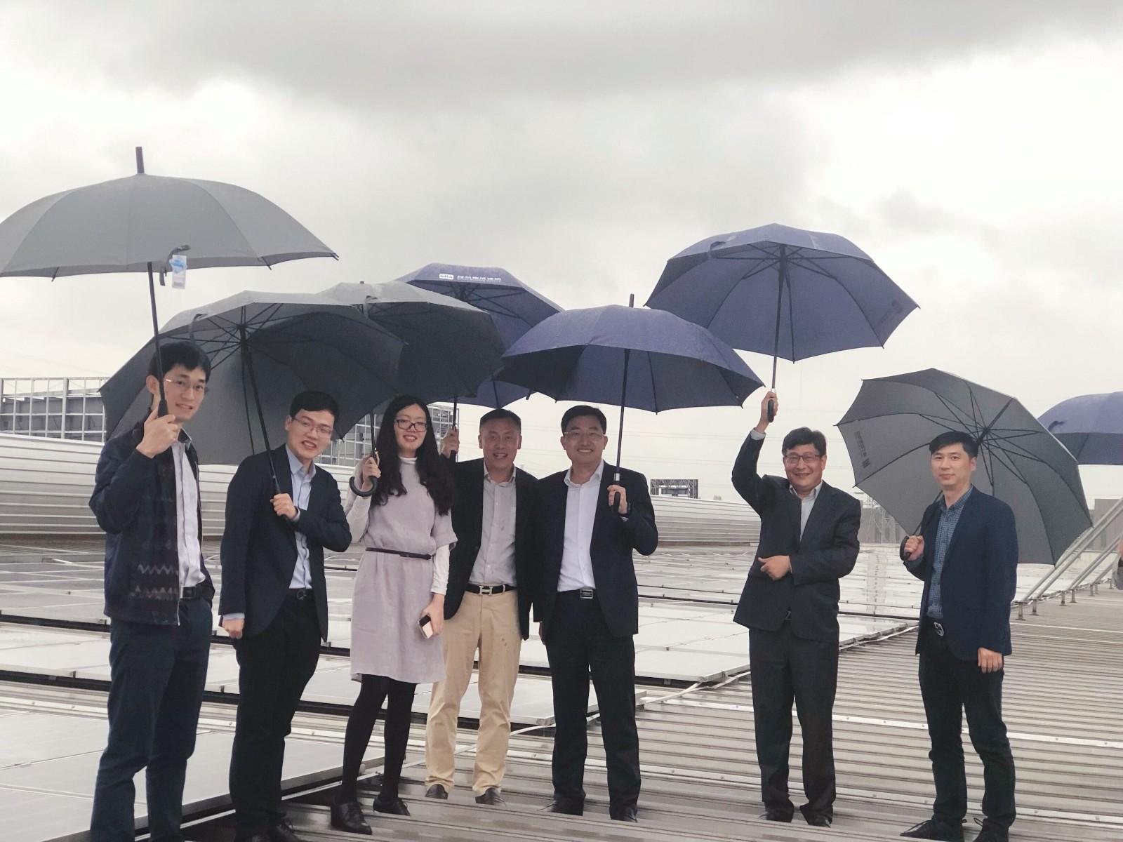 中信信托刘小军一行莅临精工能源集团考察指导