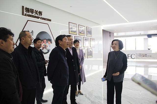云南保山市市委书记赵德光一行莅临精工上海总部调研