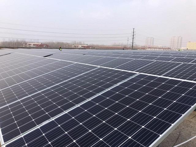 魏桥集团300MW光伏新能源项目首期并网