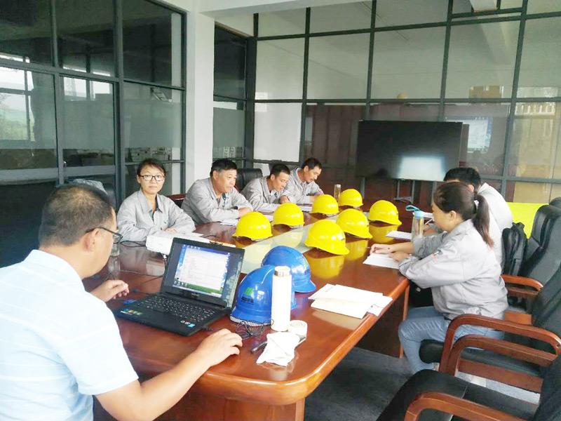 浙江精能创惠能源科技有限公司第一届新员工入职三级安全教育培训工作胜利举办